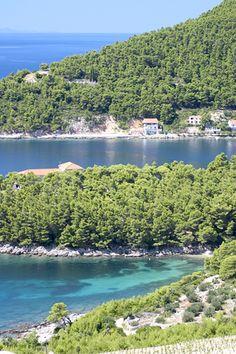 Croatia, Coastal View from Grgich Winery by johnb10175, via Flickr