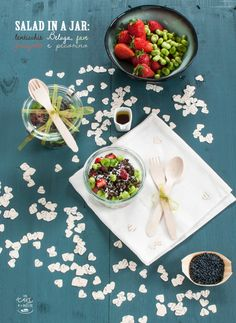 salad in a jar di primavera di Monica Giustina