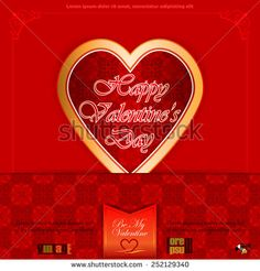 Vintage labels with Happy Valentine's Day text; Be My Valentine text and nice heart logo; Happy Valentines Day, Heart Logo, Vintage Labels, Royalty Free Images, Stock Photos, Nice, Holiday, Grief