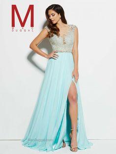 Plunging V-Neck Prom Dress | Mac Duggal 62503M.  https://www.macduggal.com/Prom-Dresses/Mac-Duggal-Prom/82517M