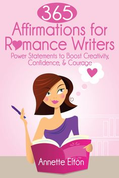 http://amzn.to/1Otk32E Ready to kick your creative fears to the curb? Ready to banish doubt, writer's block, and confidence issues? 365 Affirmations for Romance Writers is designed to help you overcome any mindset challenge you're facing so you can sit down at the blank page with clarity and confidence. #amwriting www.makealivingwritingromance.com