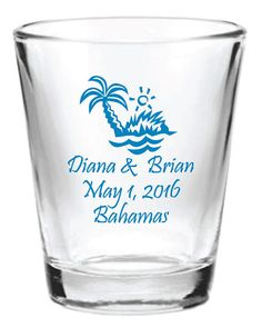 Destination Beach Wedding Favors 24 Personalized by Factory21, $91.34