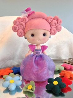 Felt dolly, Muñequita en fieltro