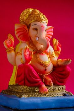 Jai Ganesh, Ganesh Lord, Ganesh Idol, Ganesha Art, Shree Ganesh, Ganesha Painting, Ganesh Chaturthi Decoration, Happy Ganesh Chaturthi Images, Shri Ganesh Images
