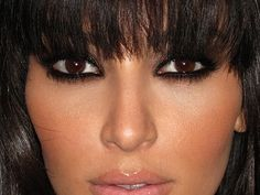 Mistress of the smokey eye - Kim K