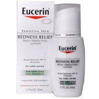 Eucerin, Redness Relief, Daily Perfecting Lotion SPF 15, Fragrance Free, 1.7 fl oz (50 ml) - iHerb.com