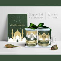 Eid Mubarak Gifts Set #eidmubarak #hampers #lebaran #ramadhan #giftset #jar #giftideas #graphic