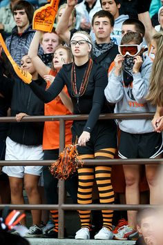 Central Kitsap High School Fans - I remember...  orange and black