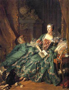 Paul Albert Besnard..Madame Pompadour