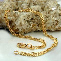 Armband, Singapur diamantiert, AMD 21cm -  - 4051288052942