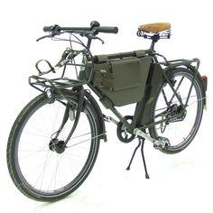 Militärvelo mit Rohloff 14-Gang von Velo Zürich