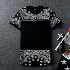 Cheap clothing licensing, Buy Quality clothing labels for kids directly from China clothing textile Suppliers: Mens Hiphop Tshirt Fashion 2015 Extended Black Hip Hop Tshirt New Men H