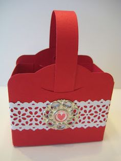 Great Minds Ink Alike: Two Tags Valentine Treat Holder