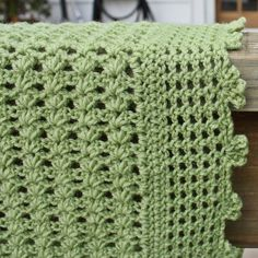 lacy crocheted blanket edgings - Google Search