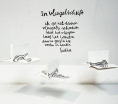 in vleugelschrift