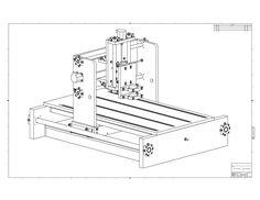 Plano de Router CNC