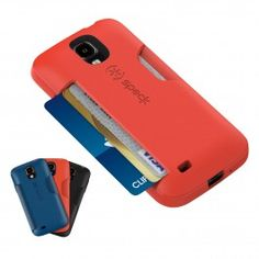 SmartFlex Card is a durable, protective Galaxy S 4 case with something up its sleeve: a side-loading card slot with room for up to three cards (or folded bills). These Galaxy S 4 cases are the perfect way to leave your wallet at home and travel light, whether you're going for a jog, heading to work or having a night out on the town.