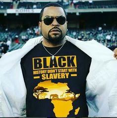 Black History Didn't Start with Slavery Order here: https://blackprideshop.com/black-history-didnt-start-with-slavery MULTIPLE colors and styles available! Click the link for details! #blackpride #blackisbeautiful #africa