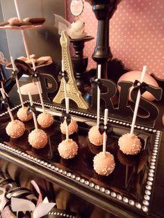 paris party ideas | Parisian} Easter Dessert Table