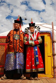 Traditional dress in Mongolia