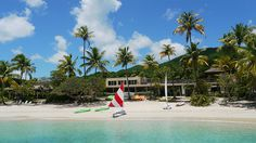 Environmentalist Laurence Rockefeller discovered this hidden gem on a family cruise. Open since 1956, the luxurious Caneel Bay Resort is the perfect place to unplug with TV- and telephone-free rooms. Guests will enjoy the resort's proximity to Virgin Islands National Park and 7 beaches, including Paradise Beach and Hawksnest Beach.
