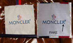 Moncler Mrken Label Schild