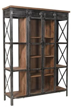 Give Your Rooms Some Spark With These Easy Vintage Industrial Furniture and Design Tips Do you love vintage industrial design and wish that you could turn your home-decorating visions into gorgeous reality? Welded Furniture, Rustic Wood Furniture, Industrial Design Furniture, Iron Furniture, Steel Furniture, Rustic Industrial, Vintage Furniture, Furniture Design, Furniture Online