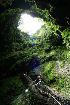 Algar do Carvão - Ilha Terceira, Açores