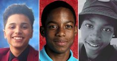 #SayTheirNames: (From l.) Jayson Negron, Jordan Edwards and Darius Smith were all gunned down by police within a month.