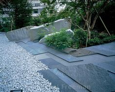 The Zen garden of th