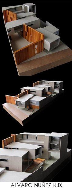 Amit Oshri saved to 00 3 4 4 6 5 Maquette Architecture, Architecture Model Making, Concept Architecture, School Architecture, Amazing Architecture, Interior Architecture, Architecture Colleges, Computer Architecture, Architecture Diagrams