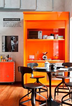 orange kitchens | orange kitchen, kitchens and orange kitchen interior
