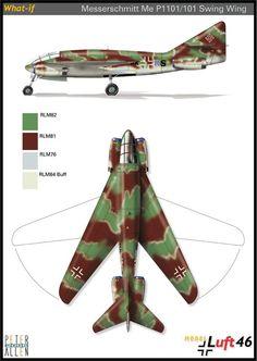 Messerschmitt Me P.1101/101 Swing Wing
