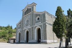 Church of santa Margherita. just a short walk up to the top of Cortona and offers wonderful views