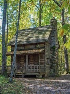 cool Log Cabin...