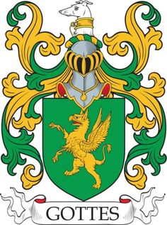 Gottes Family Crest and Coat of Arms