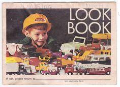 Tonka Look Book Toys Catalog 1969 Toy Catalogs, Tonka Toys, Book Catalogue, Toy Trucks, Model Pictures, See Photo, Corgi, Baseball Cards, Children