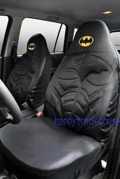 The best BATMAN car seat covers I've ever seen