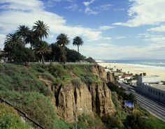 Santa Monica Beach looking south to pier.