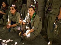 Women beheading isis