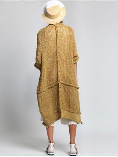 Mesh Knit Jacket by LURDES BERGADA