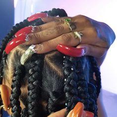 𝙞𝙩 𝙜𝙞𝙧𝙡:✧*mine Black Girl Magic, Black Girls, Black Women, Looks Style, Looks Cool, Dreads, Bling Bling, Vintage Black Glamour, Black Girl Aesthetic