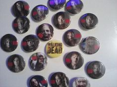 The Walking Dead Store Pajamas | Free Stuff: THE WALKING DEAD PIN ' BUTTONS Rick Grimes - Listia.com ...