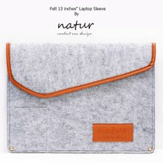 Casie 13.3 Zoll Filz Sleeve Hülle Laptop Tasche für Apple Macbook Pro - Grau: Amazon.de: Elektronik