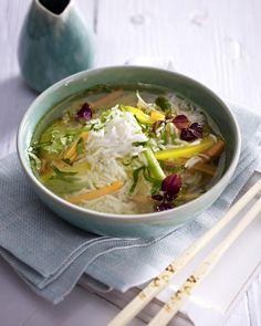 Unser beliebtes Rezept für Asiatische Reis-Suppe und mehr als 55.000 weitere kostenlose Rezepte auf LECKER.de.