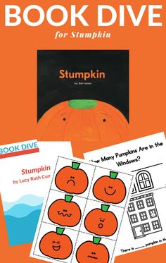 Boo activities to do with Stumpkin in this printable Book Dive. Perfect for a pupmpkin unit or Halloween unit. #Stumpkinactivities #booksactivities #GrowingBookbyBook #Halloweenactivities Halloween Activities For Kids, Kids Learning Activities, Writing Activities, Science Activities, Learning Resources, Fun Learning, Pre K Pages, Friend Crafts, Best Children Books