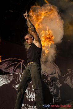 M.Shadows 08/06/14 - Rock Am Ring, Alemania #AvengedSevenfold