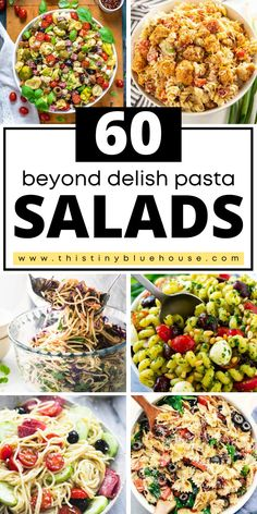 cheap, easy and delicious best summer pasta salad recipes. Perfect as a quick lunch or easy weeknight side dish. Summer Pasta Salad, Summer Salads, Easy Holiday Recipes, Easy Healthy Recipes, Best Party Appetizers, Easy Pasta Salad Recipe, Popular Recipes, Popular Food, Salad Dressing Recipes