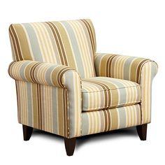 Armen Living US5021ZF - Danny Chair Zola Falx Fabric | Sale Price: $790.00