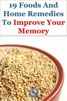 19 Foods And Home Remedies To Improve Your Memory Brain Food Memory, Food For Memory, Memory Games, Foods That Help Memory, Brain Food For Studying, Vitamins For Memory, Essential Oils For Memory, Brain Boosting Foods, Increase Memory